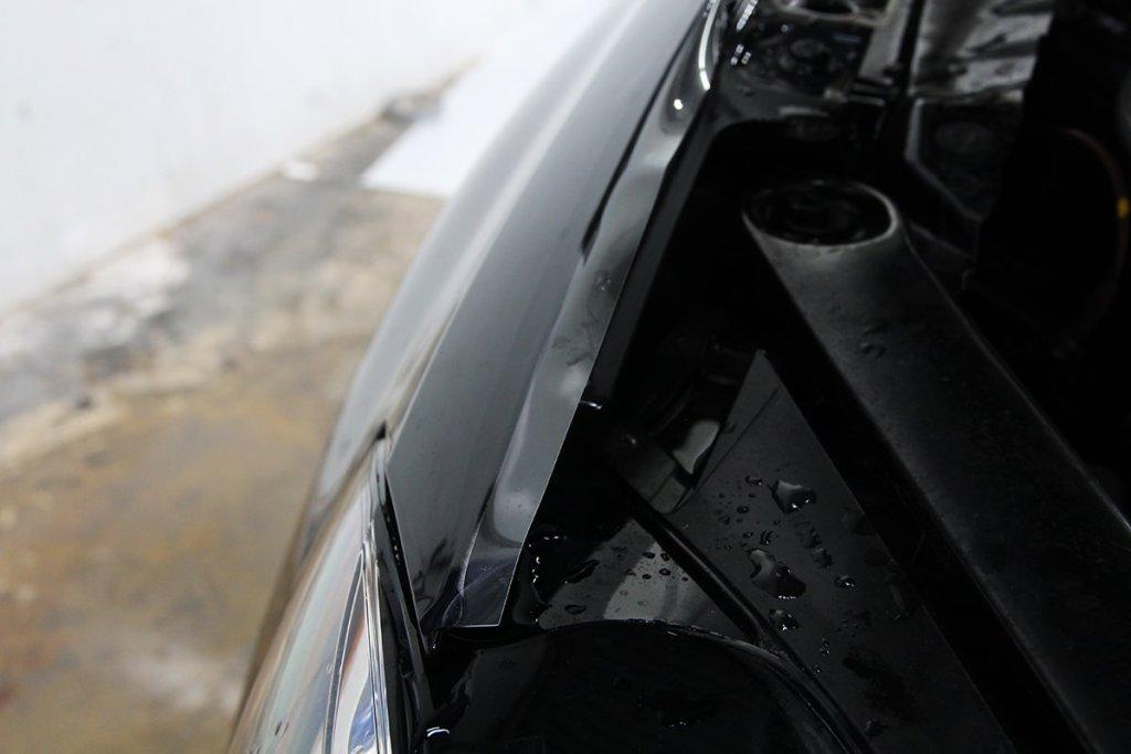 VW TDI fender wrap