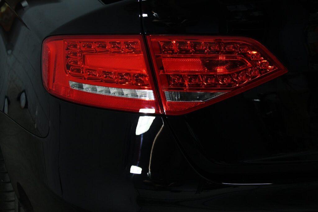 Audi S4 rear bumper after