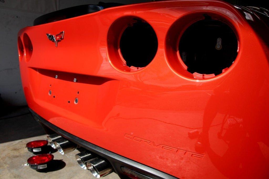 C6 Z06 rear