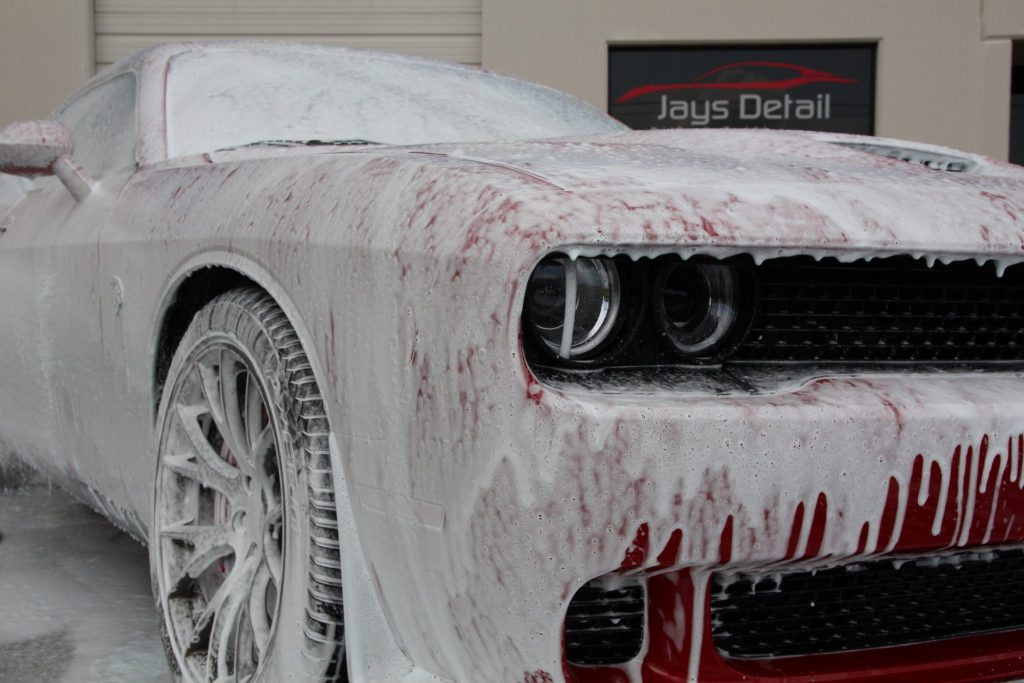HellCat Foam Bath
