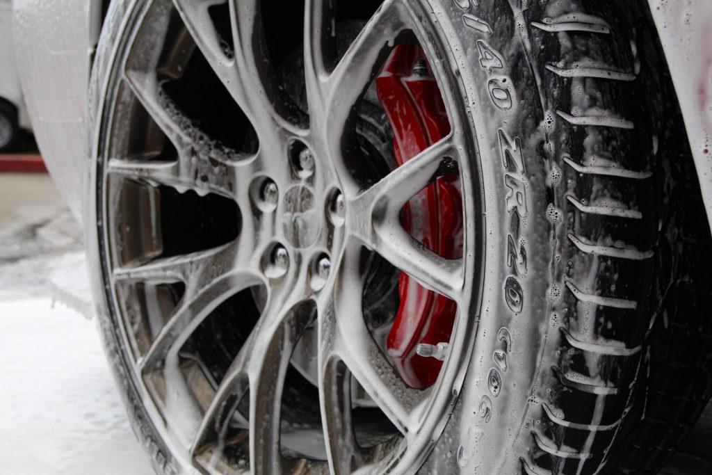 Hellcat wheel foam