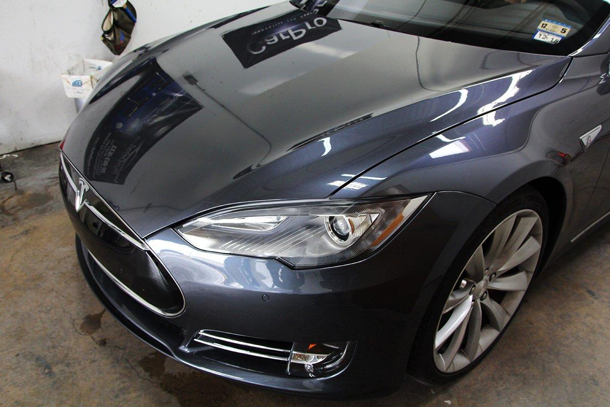 Tesla hood PPF