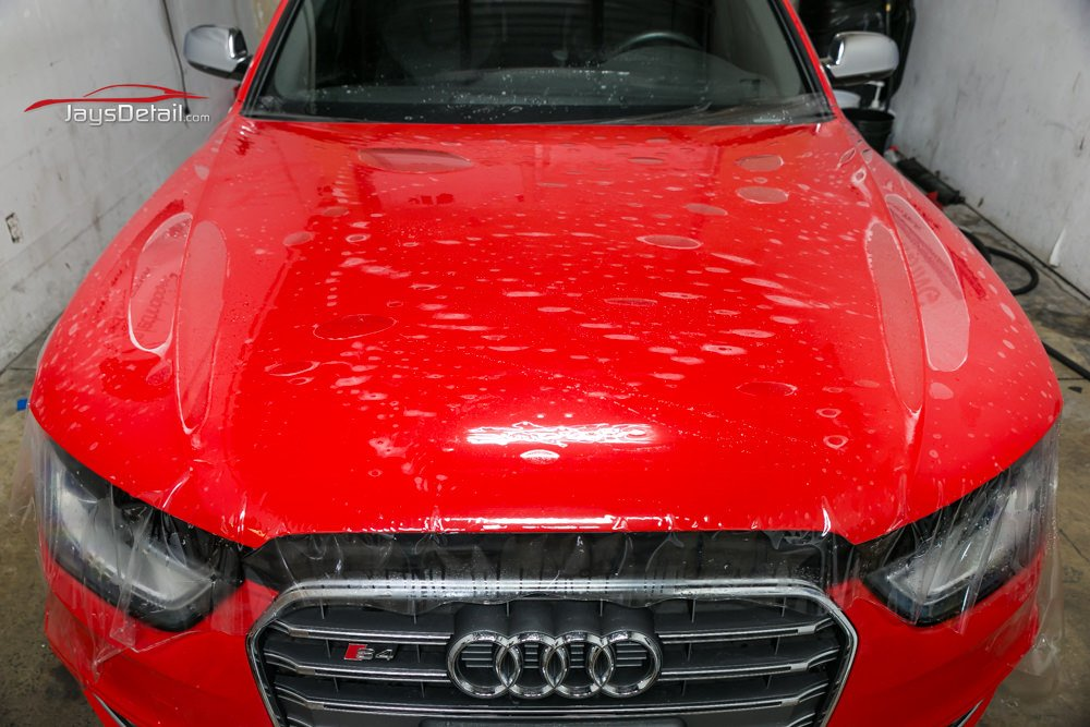 Audi S4 Full Hood Clear Bra