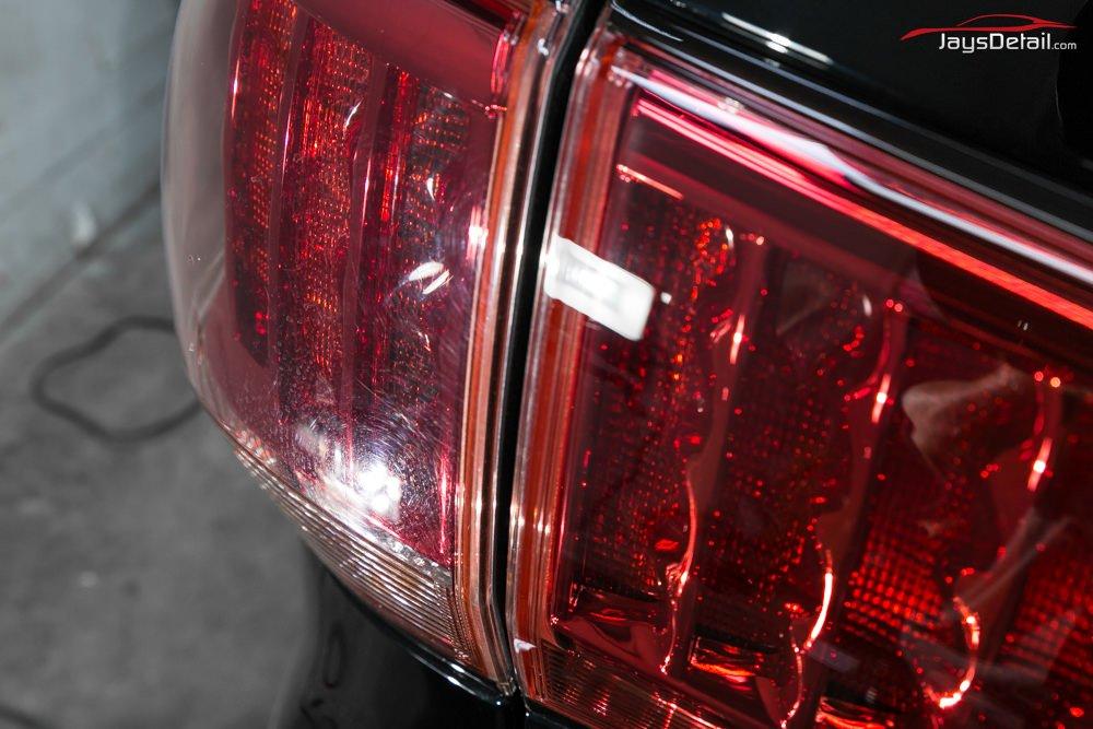 QX56 tail light swirls