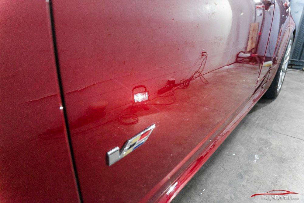 CTSV paint correction door