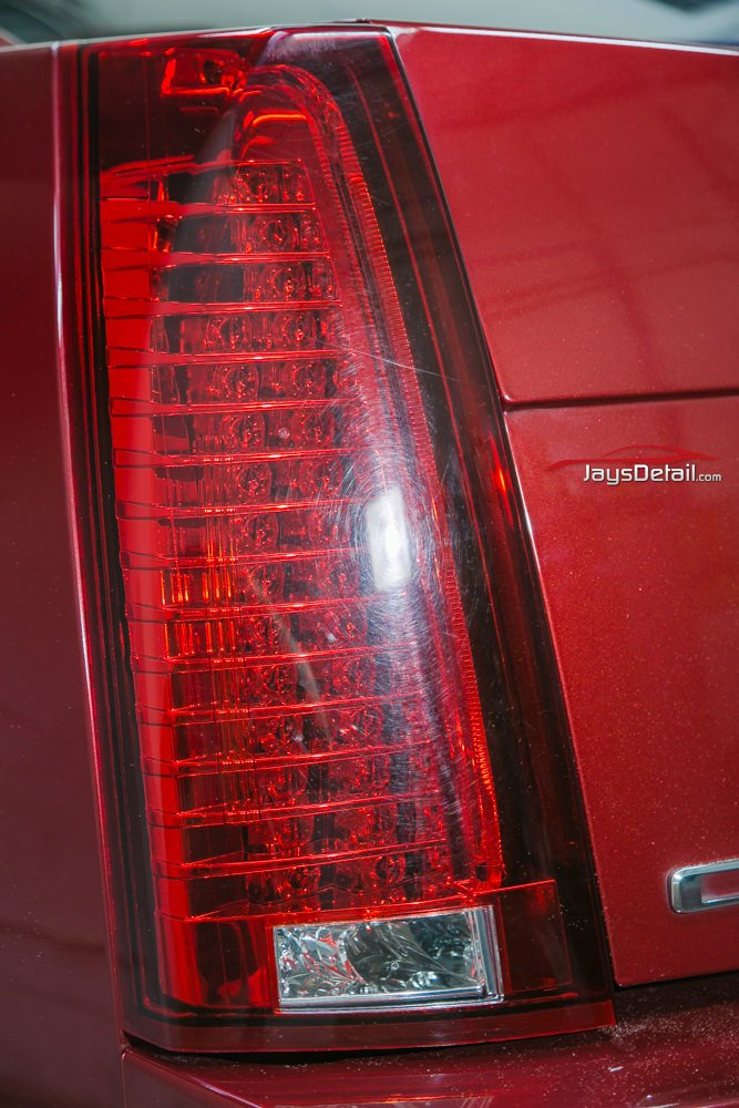 CTSV Tail light after