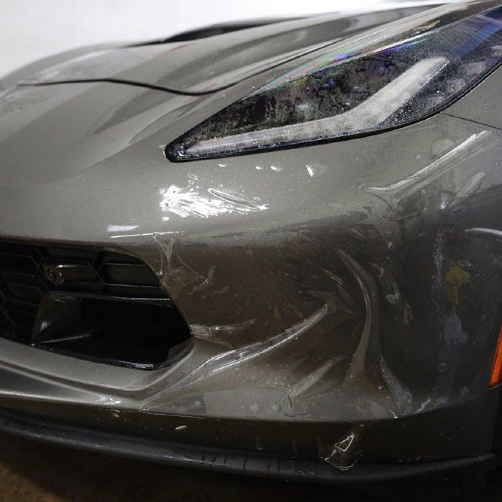 Menacing C7 Corvette Z06 gets Protected 2