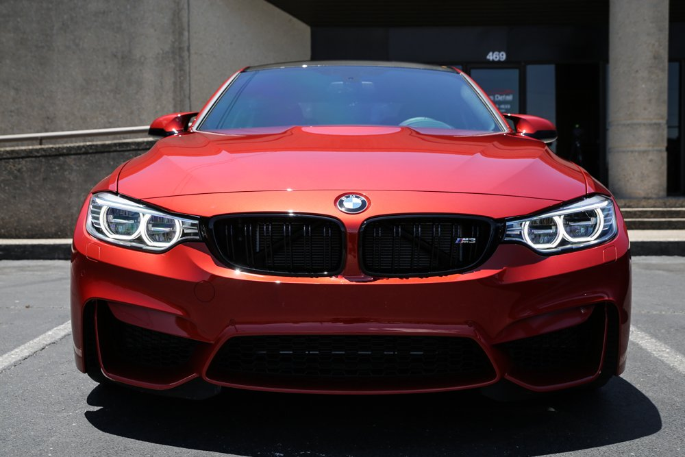 Sakir Orange BMW M3 Gets Ultimate New Car Prep