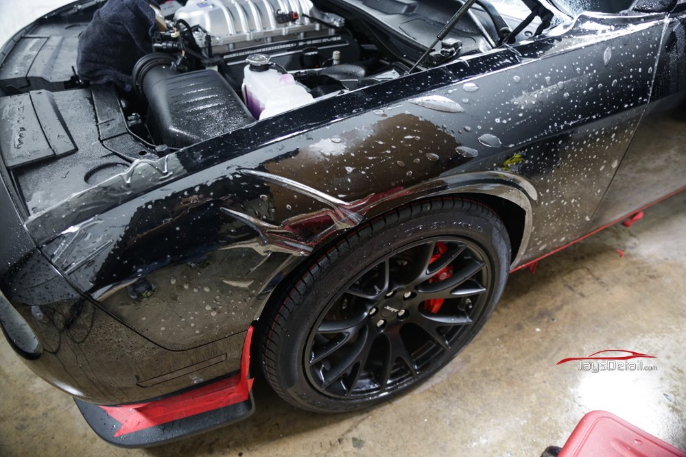 Dodge Hellcat Gets Ultimate New Car Prep - Jay's Detail 12