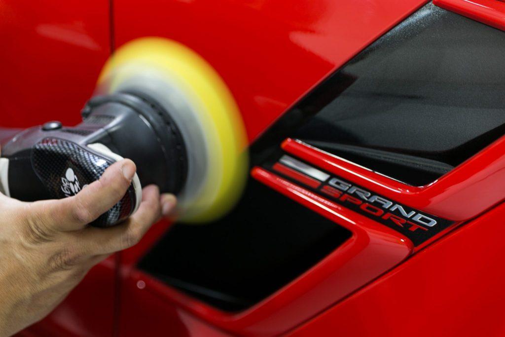 Corvette C7 Gets Paint Correction, Paint Protection & CQuartz Coating