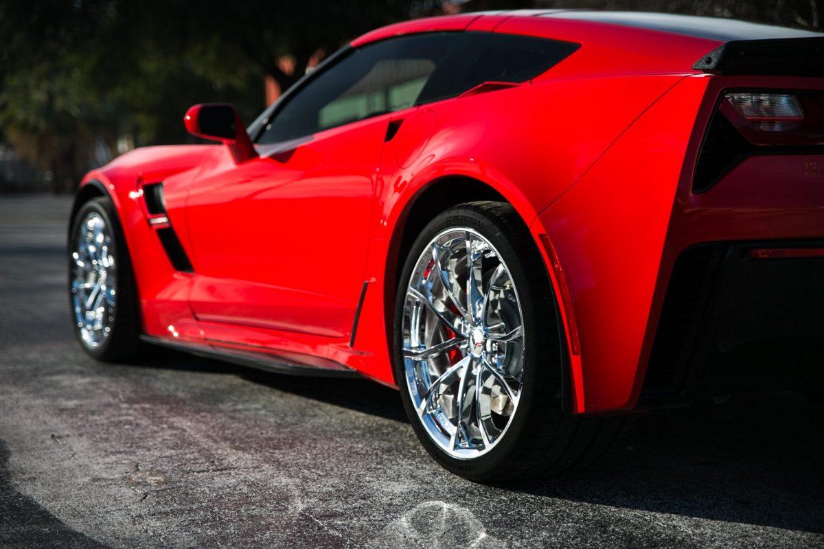 Corvette C7 Gets Paint Correction, Paint Protection & CQuartz Coating. New Car Preparation