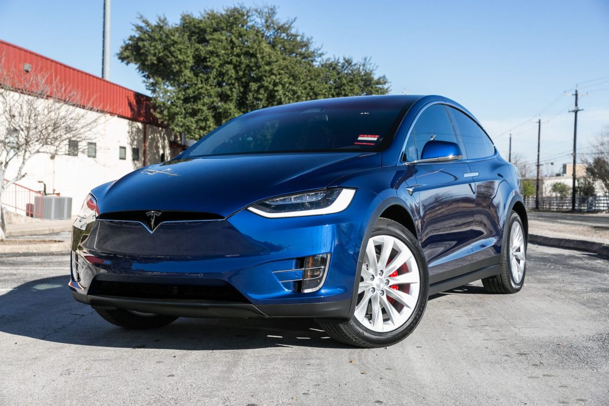 tesla model x 100d treated to a full clear bra cquartz finest and more. Black Bedroom Furniture Sets. Home Design Ideas