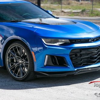 This Chevy Camaro ZL1 Street Brawler Needed a Good Defense - Suntek Ultra and Cquartz Professional 3