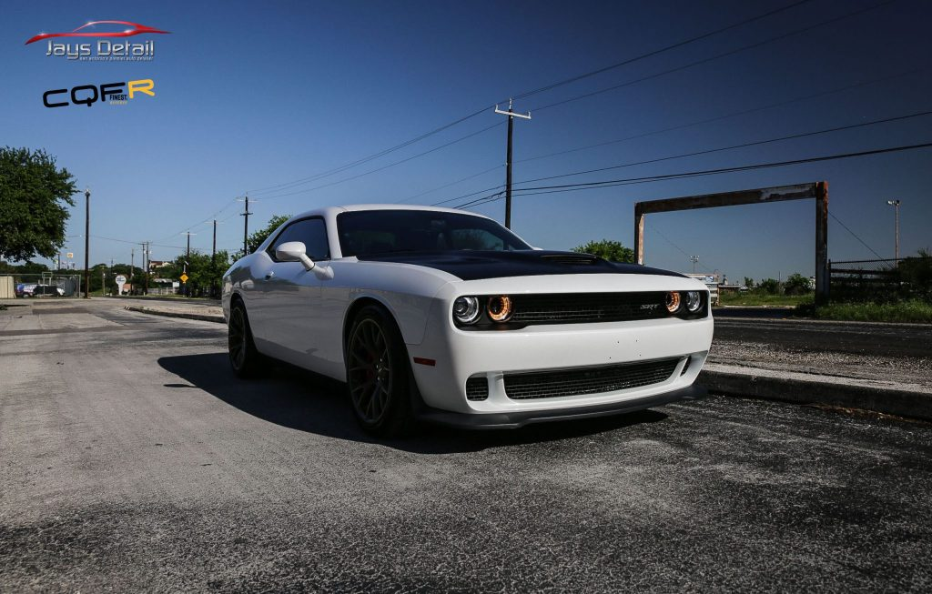 Hellcat Gets Custom Paint Protection with Suntek PPF & CQuartz Finest Reserve 2
