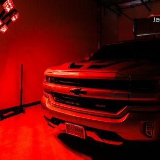 Chevy Silverado Slathered in Cquartz Professional and Suntek IR Window Film 8