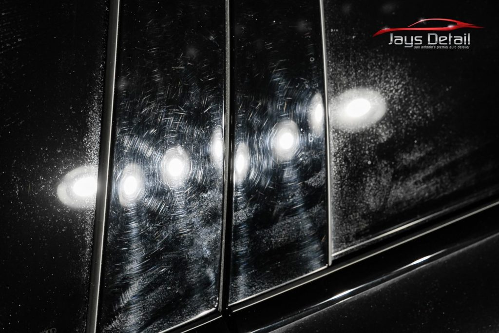 Black Audi S8's Finish Resurrected & Protected with SunTek & Cquartz 7
