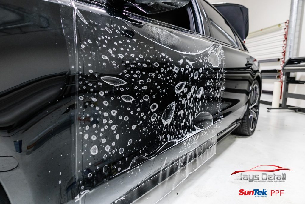 Black Audi S8's Finish Resurrected & Protected with SunTek & Cquartz 13