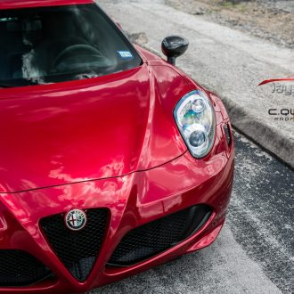 Alfa Romeo 4C's Beauty Shines Through with Cquartz Professional 7