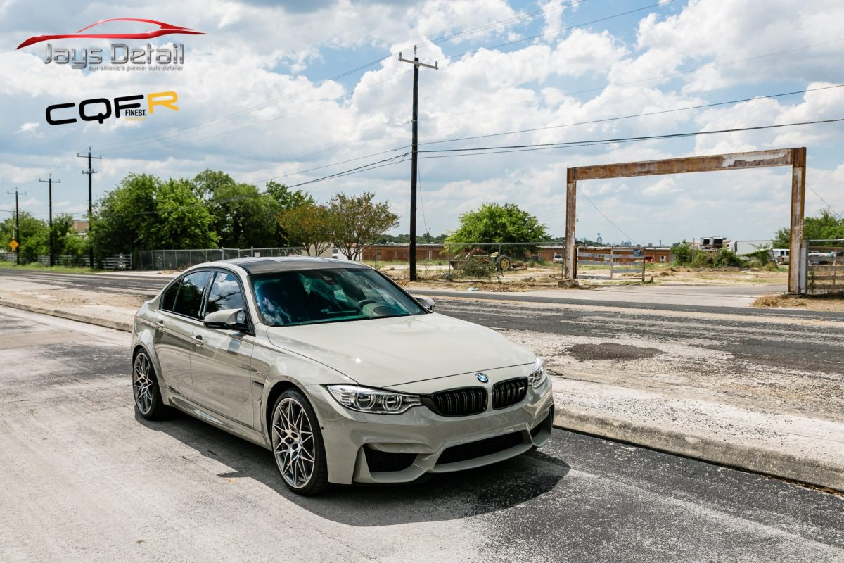 BMW M3 Gets Paint Protection Film, Paint Coating and Window Tint