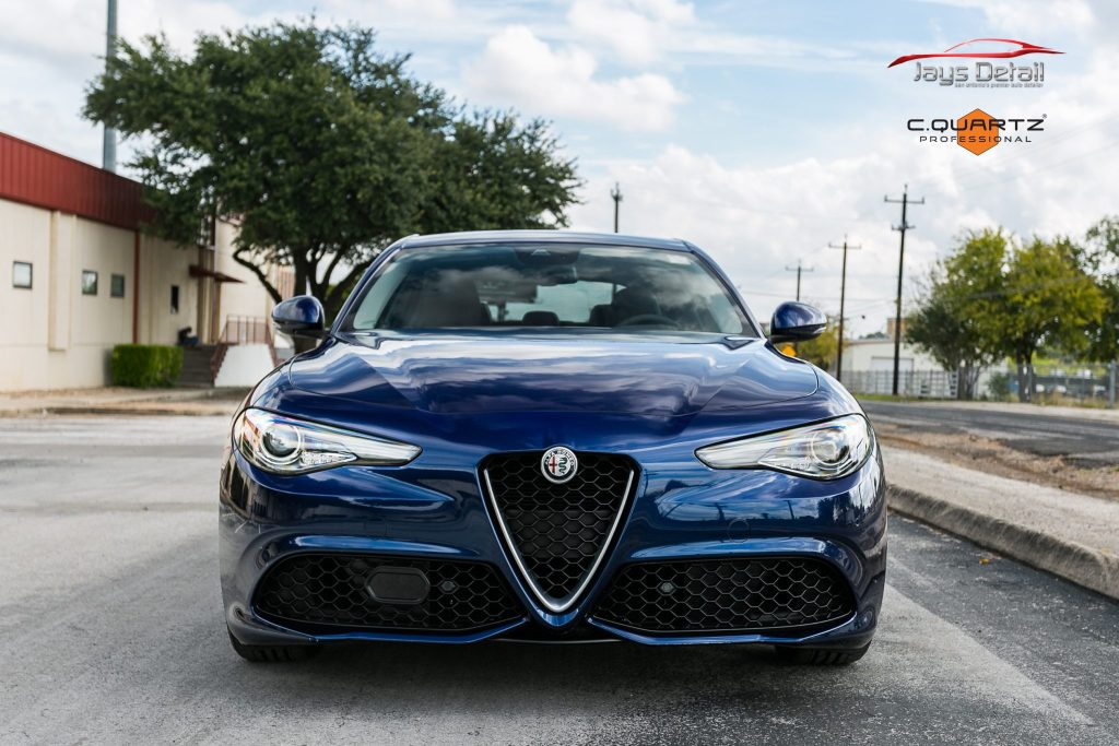 Alfa Romeo Protected with Suntek Clear Bra & Ceramic Paint Coating