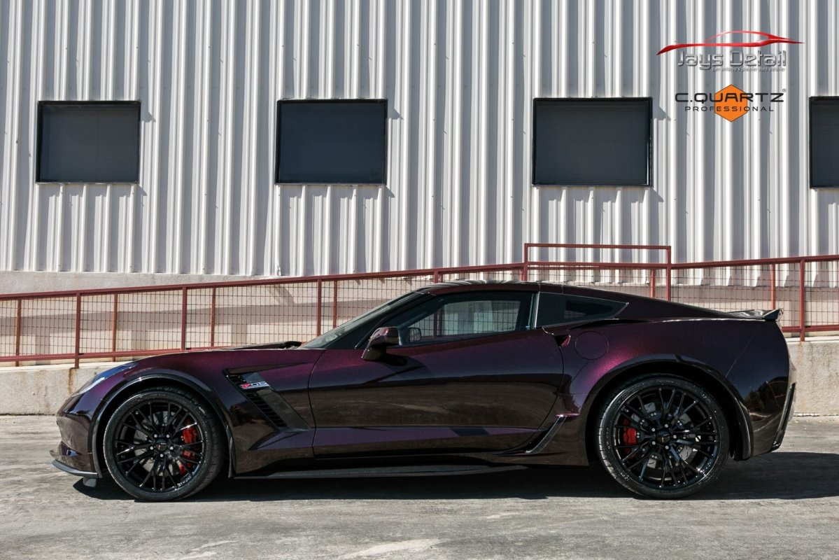 Chevrolet Corvette ZO6 Gets a Facelift Jay's Detail Studio Style