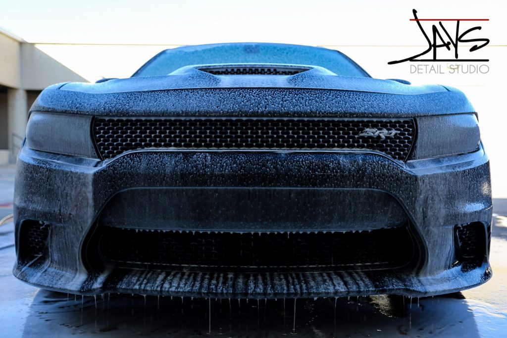Black Dodge Charger Hellcat Gets Automotive Paint Protection Package - Automotive Paint Protection in San Antonio, Texas 2