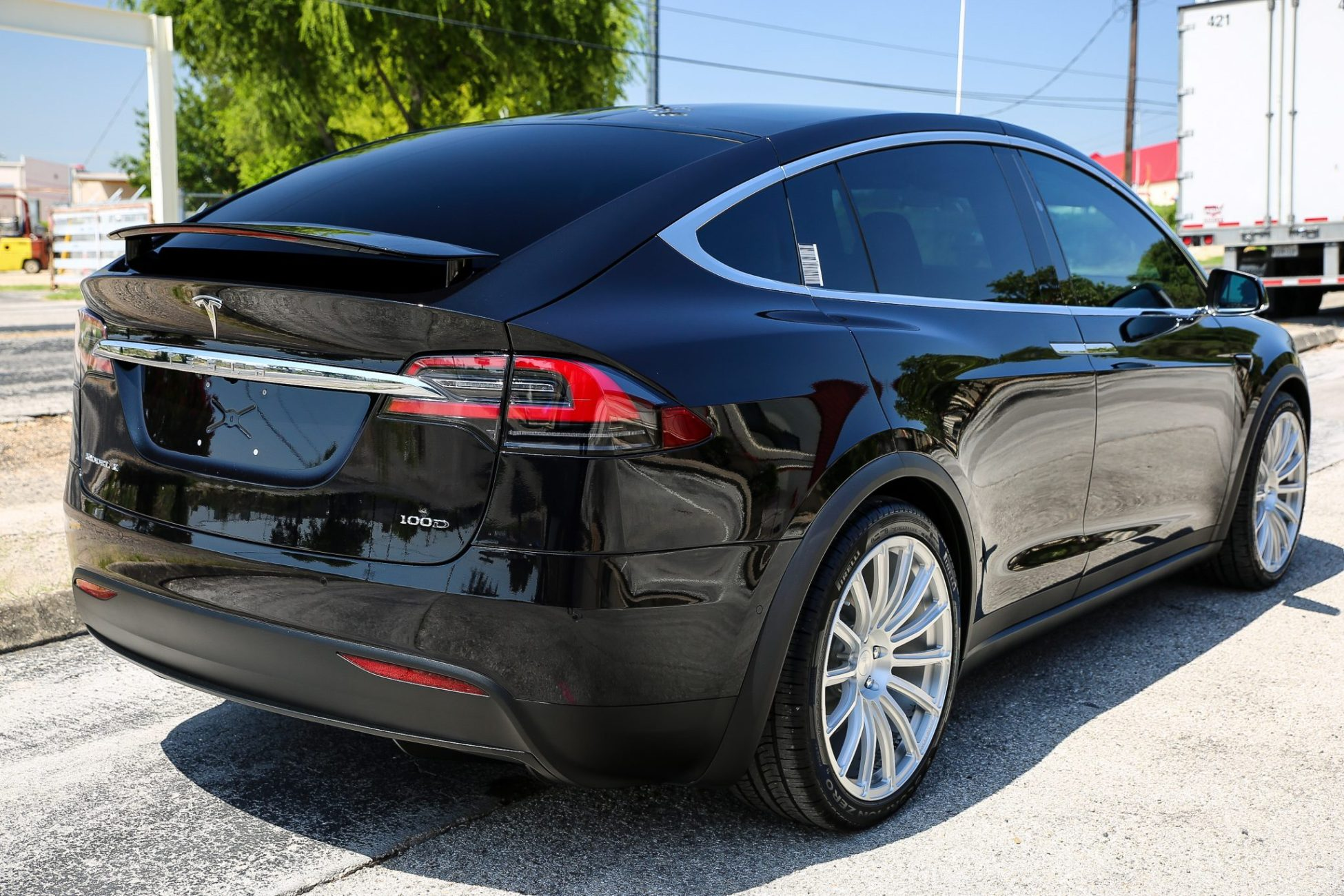 This Tesla Mothership Receives Paint Protection Forcefield