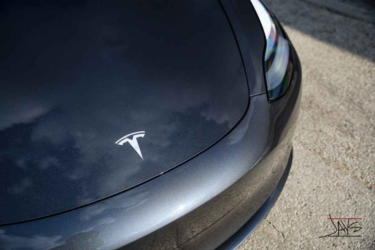 Long Awaited Tesla Model 3 Protected and Perfected - Paint Protection Film and Paint Coatings in San Antonio, Texas