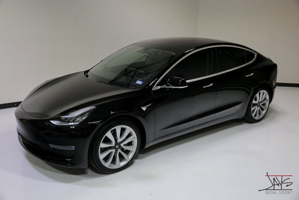 Tesla Model 3 Receives New Car Protection Package at Jay's Detail Studio in San Antonio, Texas 5