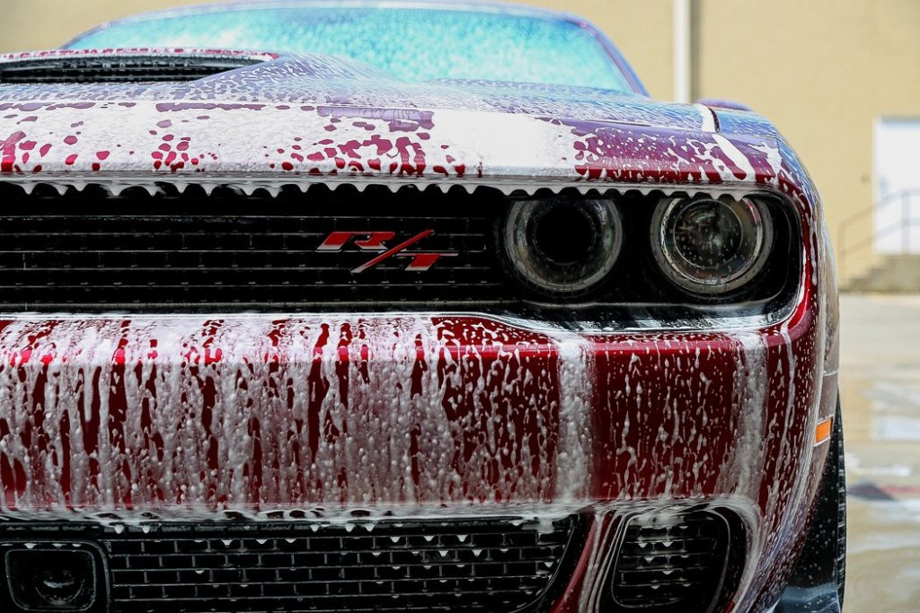 Dodge Challenger Gets Paint Correction & Ceramic Paint Coating - Jay's Detail Studio in San Antonio, Texas 2