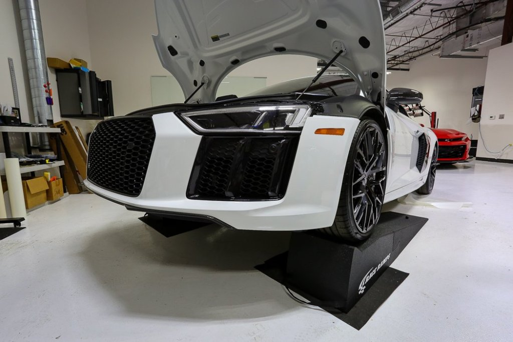 Technological Marvel Receives Some Repairs To Its Paint Protection Force Field at Jay's Detail Studio in San Antonio, Texas 4