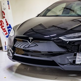 Tesla Model X Gets SunTek Ultra Defense PPF & CIR Window Tint