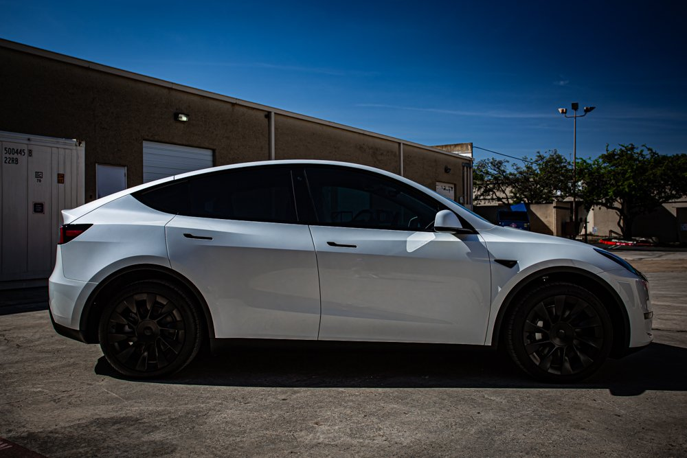 Tesla Model Y Gets SunTek Paint Protection Film & 3M Ceramic Window Tint - Paint Protection Film and Window Tinting in San Antonio, Texas
