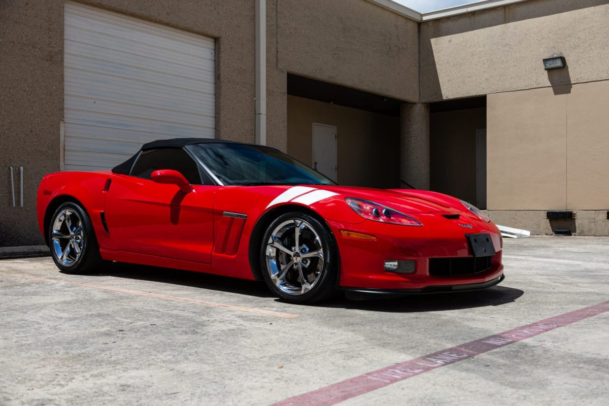 Chevrolet C6 Corvette Grand Sport Receives A Paint Refinish Before Sale