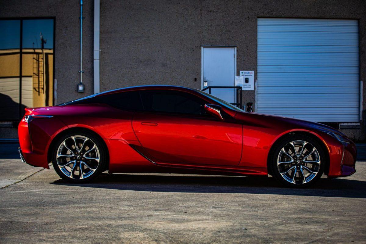 Vehicle Paint Protection Film and Ceramic Paint Coating For Lexus LC500 - Paint Protection Film in San Antonio, Texas