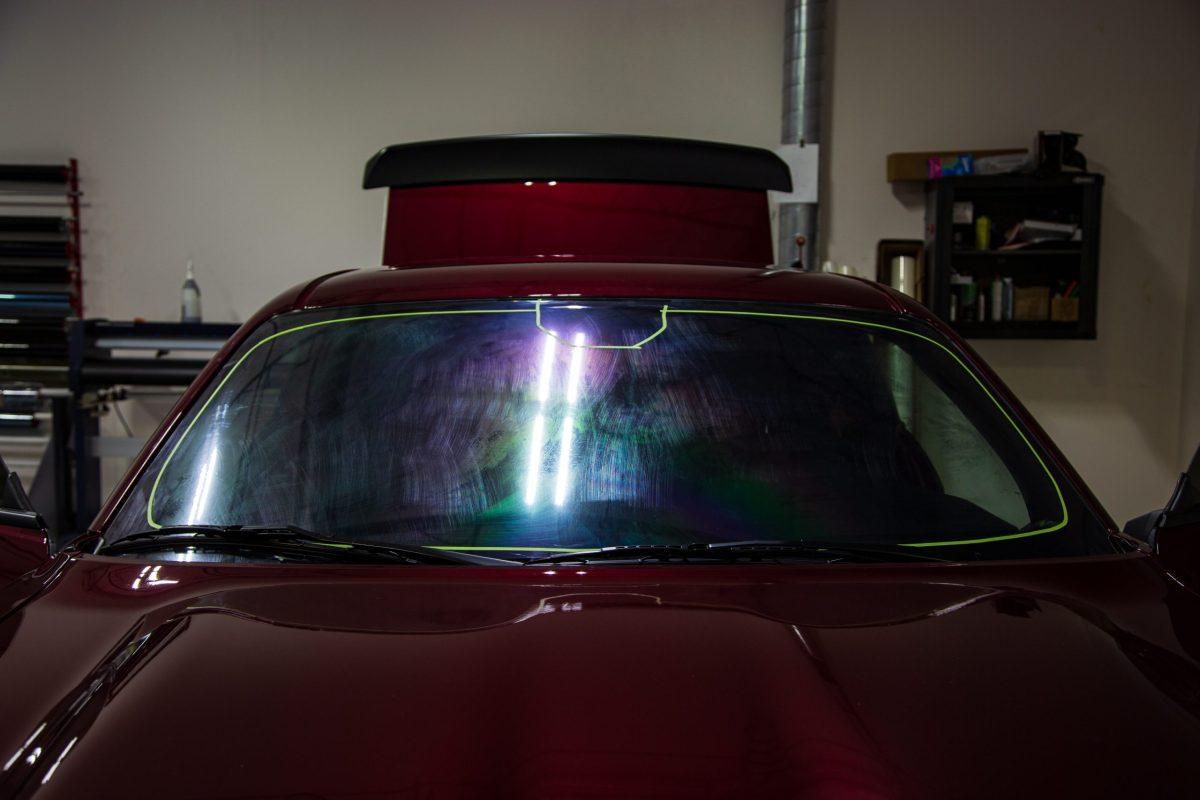 Dodge Challenger Hellcat Redeye Gets SunTek Reaction Paint Protection - Paint Protection Film in San Antonio, Texas 4