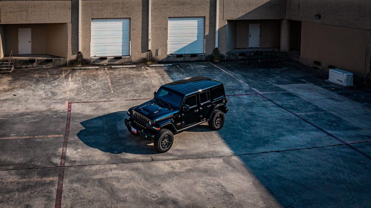 Jeep Wrangler Gets New STEK DYNOflex Windshield Protection - Windshield protection in San Antonio, Texas 2