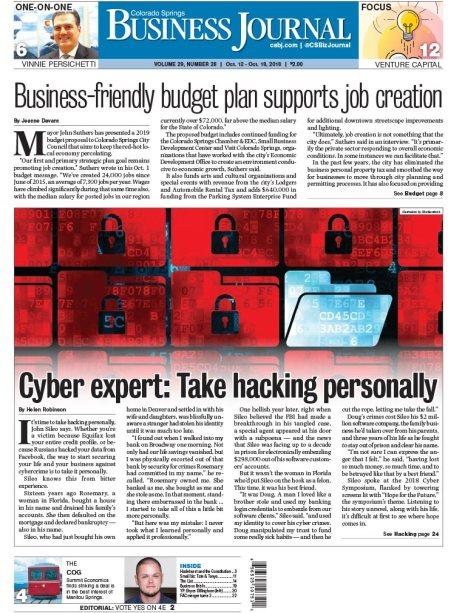 Colorado Springs Business Journal, Oct. 5, 2018