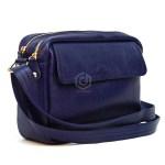 Jual Mini Bag Tas Selempang Wanita Kulit Asli Warna Biru Dongker
