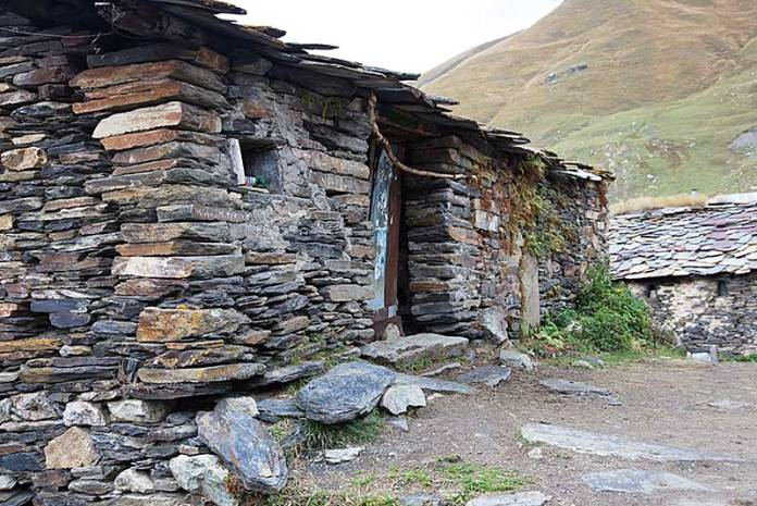 Ancient stone house