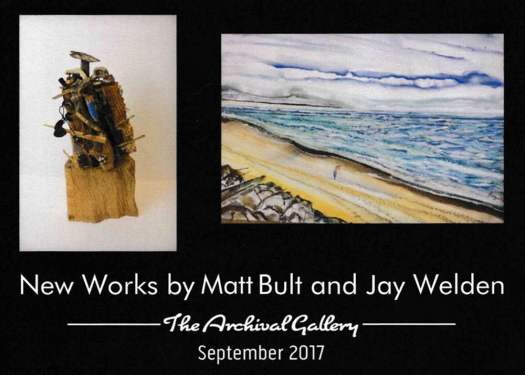 Matt Bult and Jay Welden Art Show
