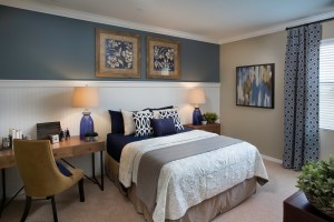 Turnberry Model Bedroom at ChampionsGate