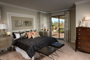 Hideaway Model Master Bedroom at ChampionsGate