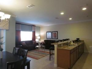 Sabal Palm Model Living Room at Storey Lake