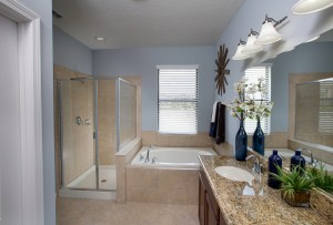 Turnberry Model Master Bathroom at ChampionsGate