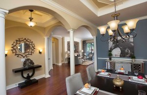 Stockton Grande Model Dining Room at ChampionsGate