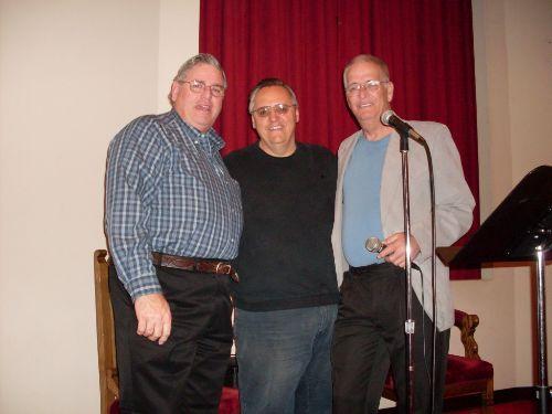Photo: Jay with John Osborne and Larry Barrett