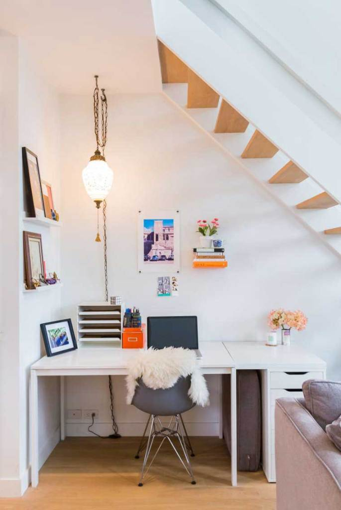 Under Stairs Small Office