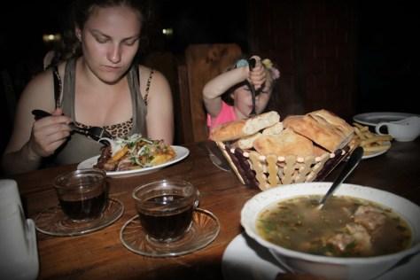 obiad w Batumi