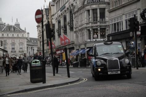 najpopularniejszy londyński samochód